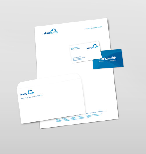 Alaris Health Stationery