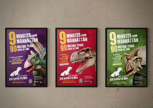 Field Station: Dinosaurs Posters