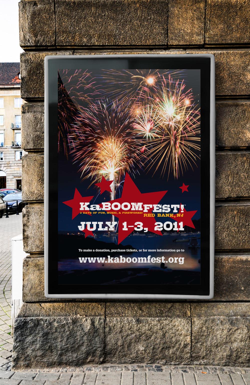 KaBOOM! Fireworks Poster