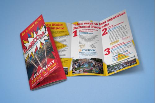 KaBOOM! Fireworks Brochure