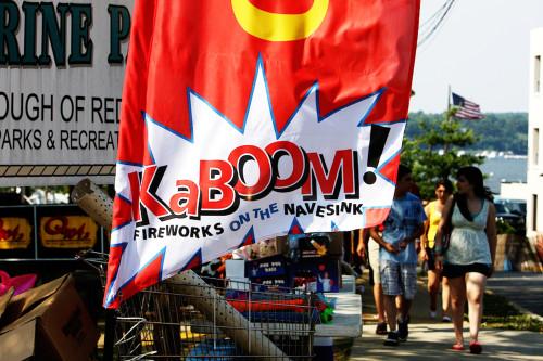 KaBOOM! Fireworks Signage
