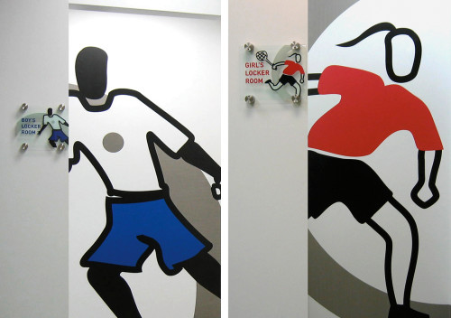 StreetSquash Environmental Graphics