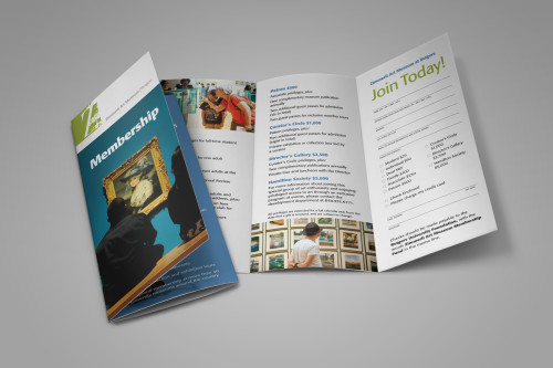 Zimmerli Art Museum Membership Brochure